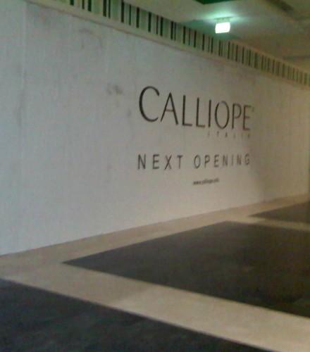 Negozio Calliope Centro Commerciale Porte di Catania